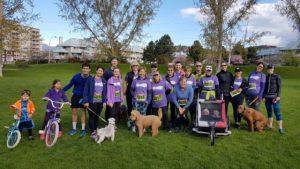 PLAN Okanagan Run for Friends 2017